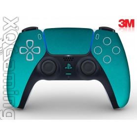 DualSense skin Metallic Atomic Teal