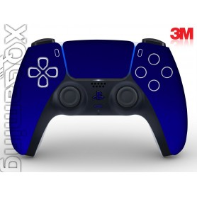 DualSense skin Metallic Blue Rapsberry