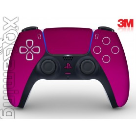 DualSense skin Metallic Fierce Fuchsia