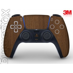 DualSense skin Wood Brown