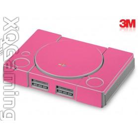 PS1 skin Glans Hot Roze