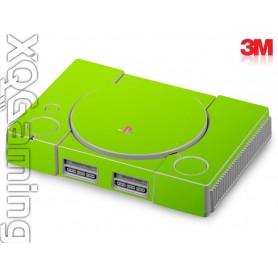 PS1 skin Glans Licht Groen