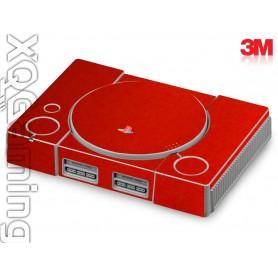 PS1 skin Metallic Dragon Fire Red