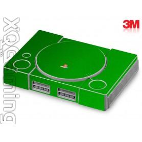 PS1 skin Metallic Green Envy