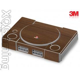 PS1 skin Wood Brown