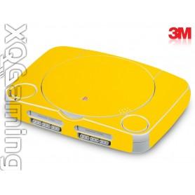 PS1 slim skin Gloss Bright Yellow