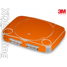 PS1 slim skin Metallic Liquid Copper
