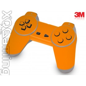 PS1 controller skin Gloss Bright Orange