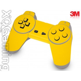 PS1 controller skin Gloss Bright Yellow
