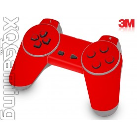 PS1 controller skin Gloss Hotrod Red