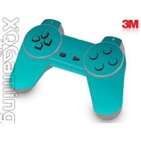 PS1 controller skin Metallic Atomic Teal