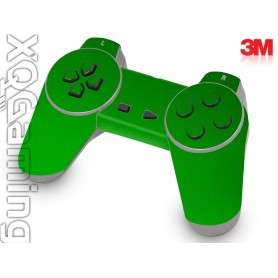 PS1 controller skin Metallic Green Envy