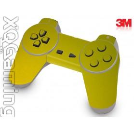 PS1 controller skin Metallic Lemon Sting