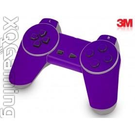 PS1 controller skin Metallic Plum Explosion