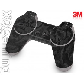 PS1 controller skin Shadow Black
