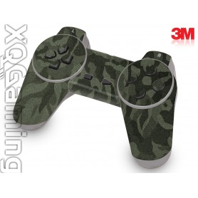 PS1 controller skin Shadow Military Green