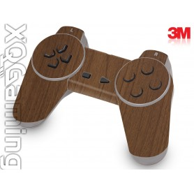 PS1 controller skin Wood Brown