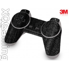 PS1 controller skin Wood Burned