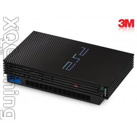 PS2 skin Carbon Fiber Black