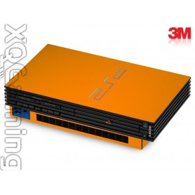 PS2 skin Glans Helder Oranje