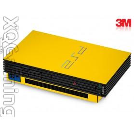 PS2 skin Gloss Bright Yellow