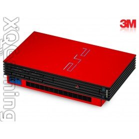 PS2 skin Gloss Hotrod Red