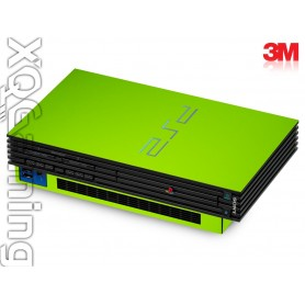 PS2 skin Glans Licht Groen