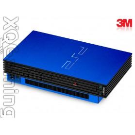 PS2 skin Metallic Blauw Fire