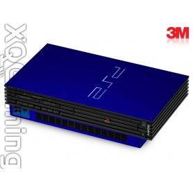 PS2 skin Metallic Blue Rapsberry