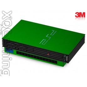 PS2 skin Metallic Green Envy