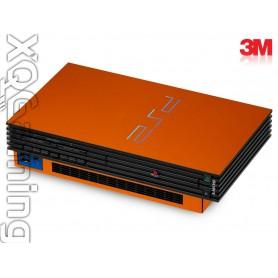 PS2 skin Metallic Liquid Copper