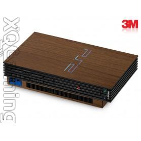 PS2 skin Wood Brown