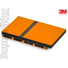 PS2 slim skin Gloss Bright Orange