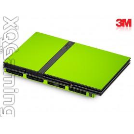 PS2 slim skin Gloss Light Green