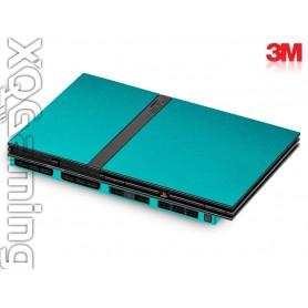 PS2 slim skin Matrix Black