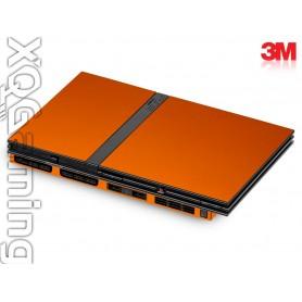 PS2 slim skin Metallic Liquid Copper