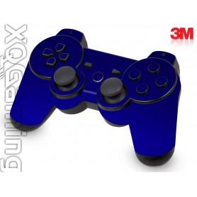DS3 skin Metallic Blue Rapsberry