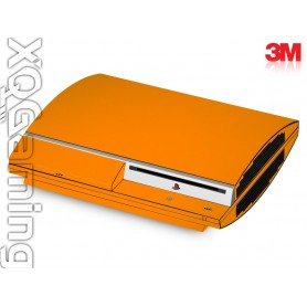 PS3 skin Gloss Bright Orange