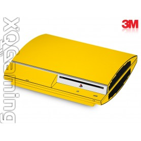 PS3 skin Gloss Bright Yellow