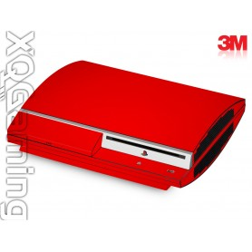 PS3 skin Gloss Hotrod Red
