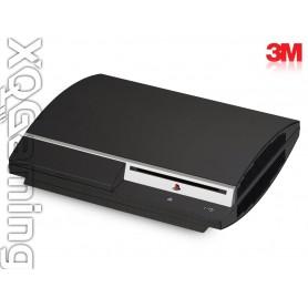 PS3 skin Matrix Black