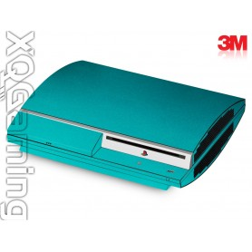 PS3 skin Metallic Atomic Teal