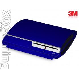 PS3 skin Metallic Blue Rapsberry
