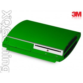 PS3 skin Metallic Green Envy