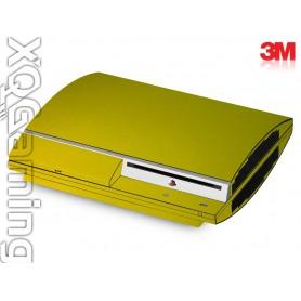 PS3 skin Metallic Lemon Sting