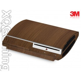 PS3 skin Wood Brown