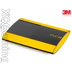 PS3 Super Slim skin Gloss Bright Yellow