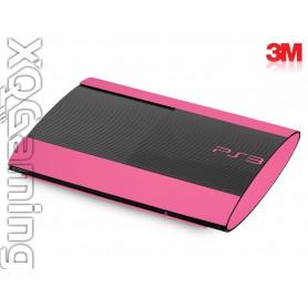 PS3 Super Slim skin Gloss Hot Pink