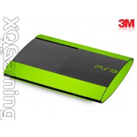 PS3 Super Slim skin Gloss Light Green