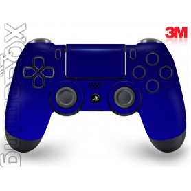 DS4 skin Metallic Blue Rapsberry